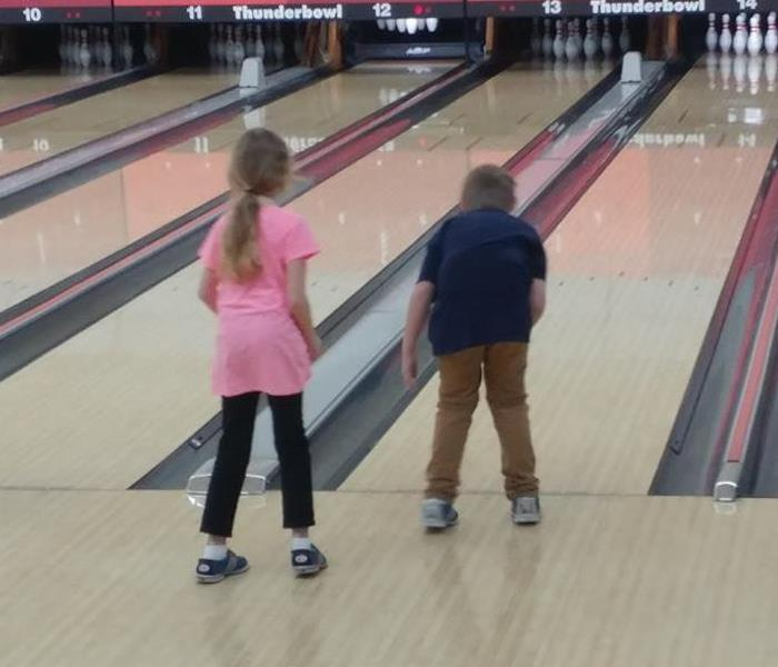 Bowling with SERVPRO